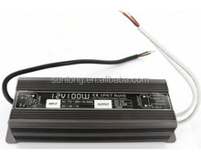 low ripple and noise waterproof led driver 36v led power supply 100w
