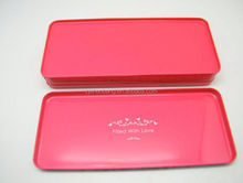cheap clear pvc clear pvc tin box/ football shape candy box/ canister