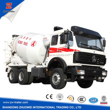 China hot sale concrete mixers dumpers / concrete mixer truck