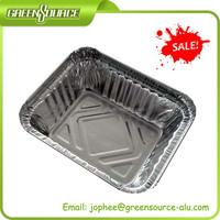 kitchen use aluminum foil container/disposable hot sale lunch boxes