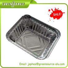 kitchen use aluminum foil container/disposable hot sale lunch boxes