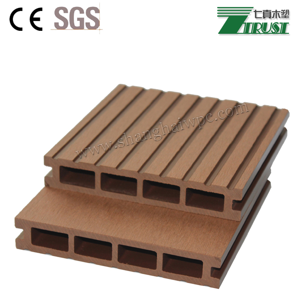 Boat decking material synthetic 145 25mm wpc decking for Cheap decking material