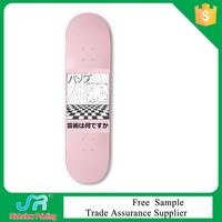 Dry rub resistance skateboard heat transfer printing film with customized design