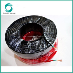 Excellent resistance to abrasion solar panel cable, High current carrying capacity solar pv cable 10mm2