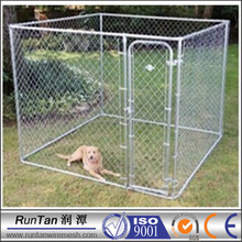 chain link mesh , outdoor dog fence