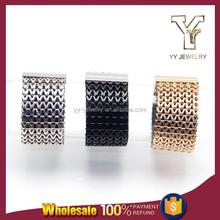 Three Tone Gold Plated Anti-static Magnetic Bracelet