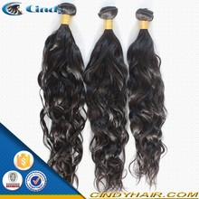 good selling black color natural wave brazilian weave virgin hair extensions