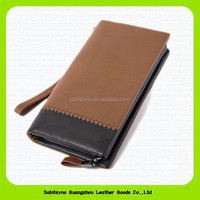 15397 Genuine leather vintage wallet men with clutch