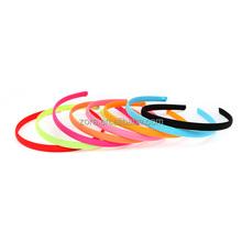 2015 popular fabric covered plastic headband
