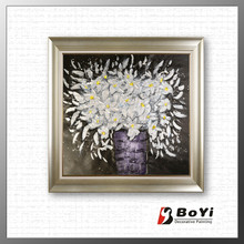 Modern Canvas Oil Painting,Decoration Flower Oil Painting,Flower Picture of Oil Painting