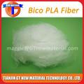 1.5d 38mm pla/en fibre de pla, fibres de maïs, fibre à deux composants