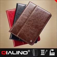 2014 best selling genuine leather tablet case,case for ipad air case