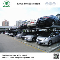2 post hydraulic parking device, cheap parking lift used for sale