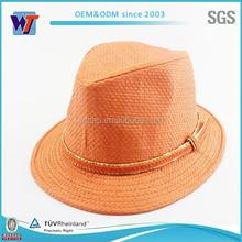 Design your own orange cowboy hat with print logo