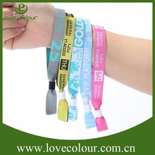 Festival event party fabric wristbands with customized logo