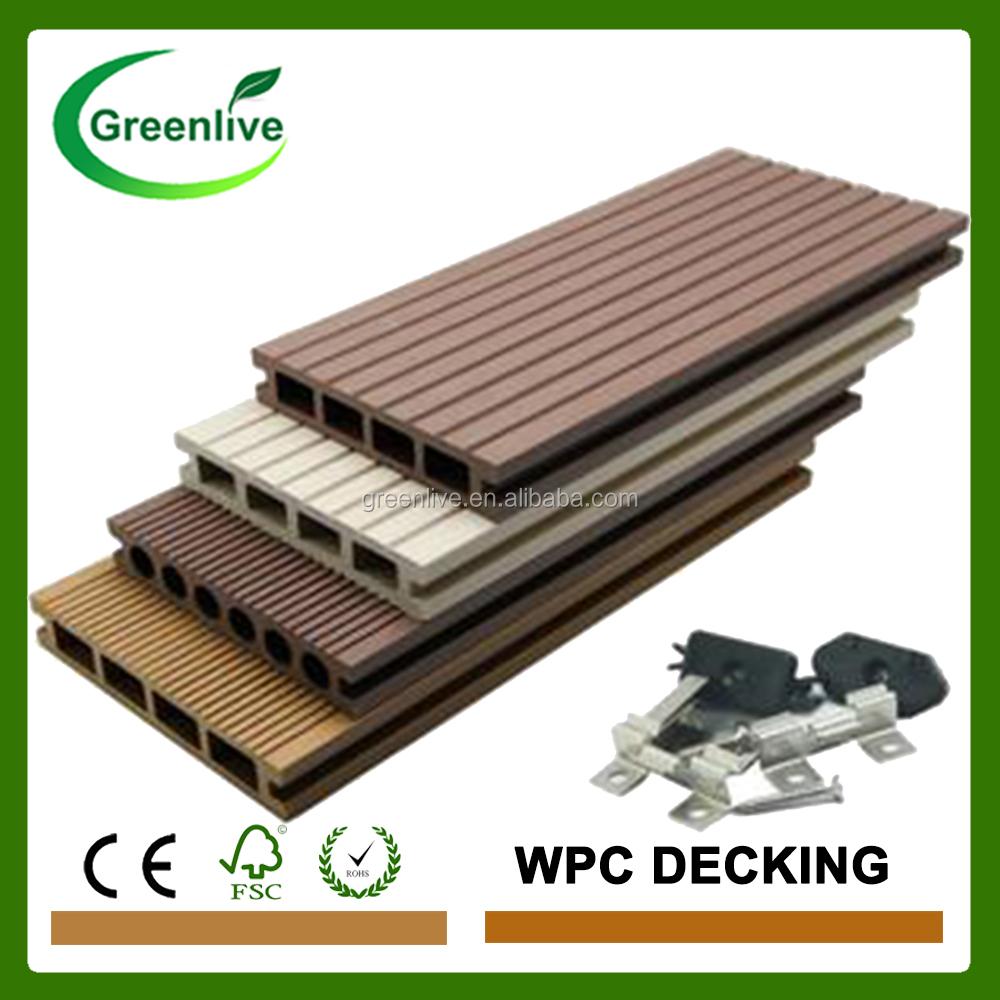 Composite Flooring Panels : Wood plastic composite floor decking panel buy