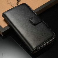 2014 amazing new products wholesale cell phone leather case for Iphone 4 4S with full protection and card slots