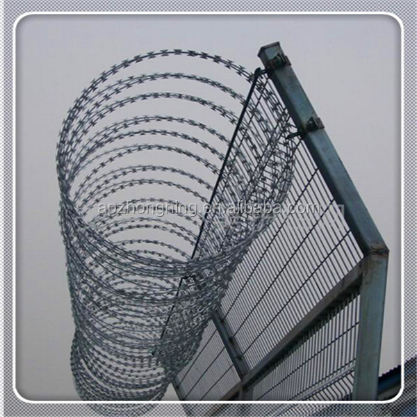 Wholesale Galvanized Razor Barbed Wire Razor Blade Barbed Wire Toilet Seat R