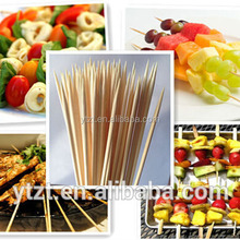 """1 Bag(100) Bamboo Skewer Sticks 12"""", for BBQ, Fondue, Hors d'oeuvres,Crafts,etParty Grill"""