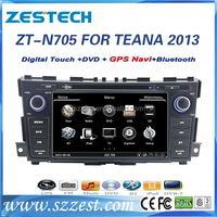For nissan teana altima 2013 touch screen car multimedia dvd gps player navigation system