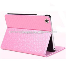 High Beautifull Leather Ultra Thin Flip Case For IPad Mini Cover