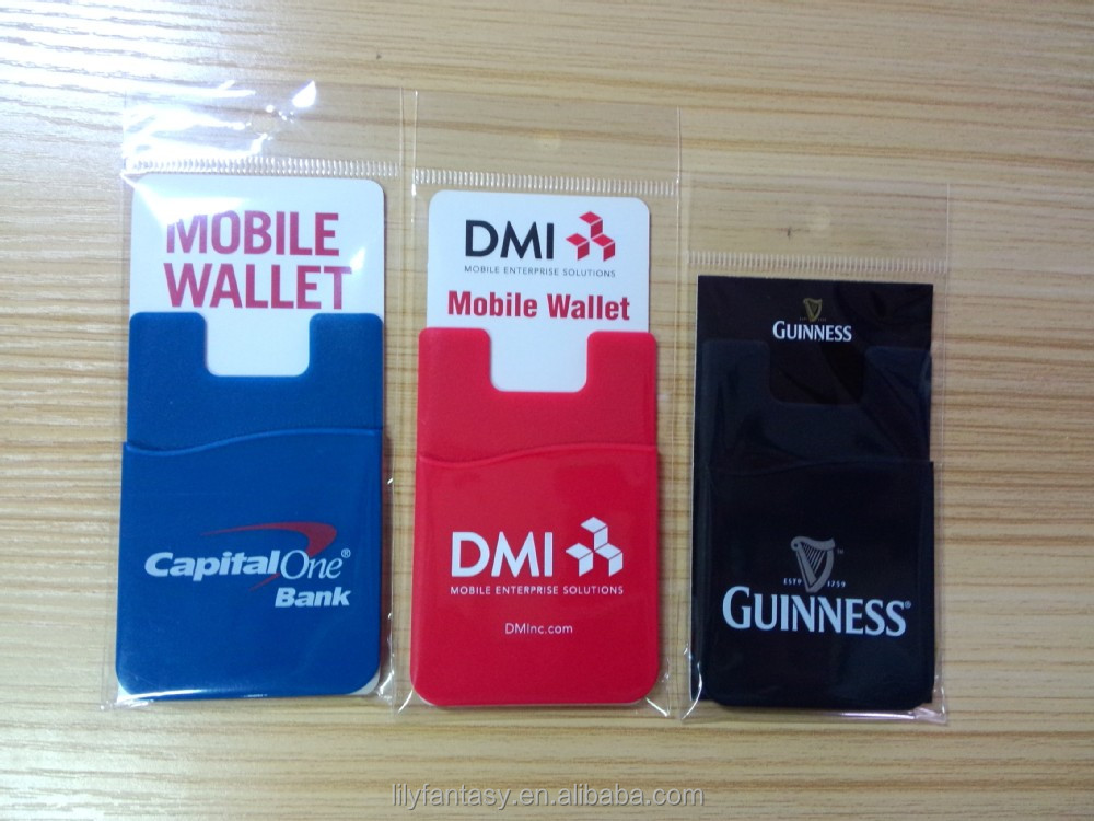 silicone smart wallet for Iphone6/plus card holder