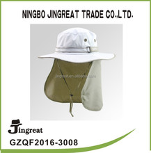 ear flap and neck sun protect hunt hike fishing cap/hat