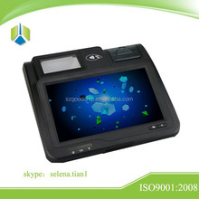 High quality multi function 10.1 inch Touch screen payment terminal ,support NFC/RFID card payment,barcode payment---Gc039B
