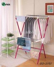 Montado en la pared tendedero de ropa, de metal balcón tendedero de ropa