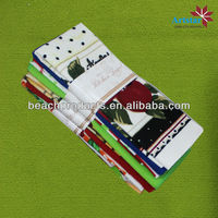 100% polyester terry cloth printed kitchen towels