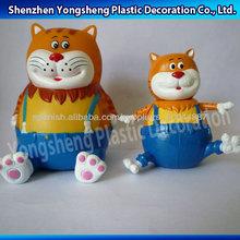 3d personaje de dibujos animados juguetes de plástico