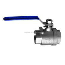 2ps handle screw handwheel Ball Valve ANSI DIN JIS API6D CF8M 316 lock