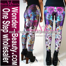 Custom sublimation digital printed leggings