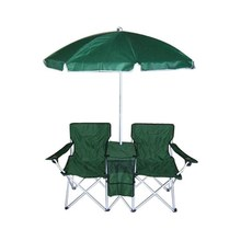 Foldable Beach Chair with umbrella and cooler