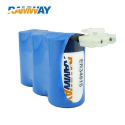 3.6v ER14335H small size dry primary battery