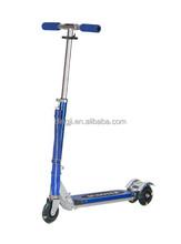 Children metal aluminum scooter,Foot petal kick scooter