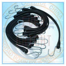 RUBBER TARP STRAP WITH S HOOKS
