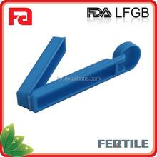 LY 218570 Plastic Food Sealing Clamp/Food Seal Storage Bag Lock Date Clip /plastic bread bag sealer clip