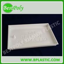 PVC/PET/PS blister tray, plastic insert tray fruit tray