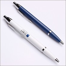 white &blue color metal parker style promotional pen and nice ball pen