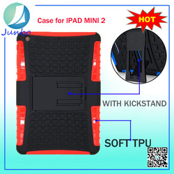Lowest Price Belt Clip PC Flip TPU mobile phone case for ipad mini