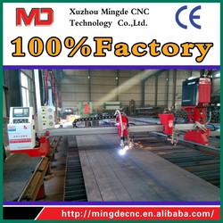 Factory corporation directly sale gantry style cnc flame/plasma metal cutting machine