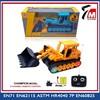 Toy toy with custom logo 4ch plastic remote control toy truck crane
