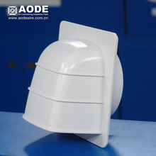 Cowled Supply and external exhaust hook with non return gravity flap for HVAC / ventilation made by China manufacturer