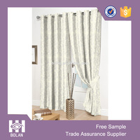 Ready made Eyelets Jacquard Window Curtain