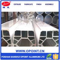 Advanced Materials Extrusion Anodizing 25X25 Aluminium Profile