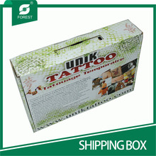 WHOLESALE CUSTOM PRINT CORRUGATED SHIPPING BOXES FOR SUITS
