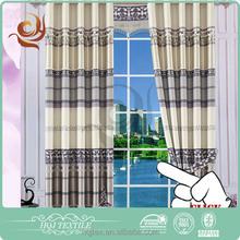 Fabricante profesional clásica moderna apagón tela de la cortina shaoxing