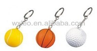 PU ball stress toy keychain for gift promotion