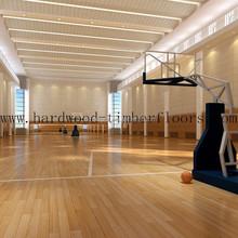 Indoor basketball wood flooring Maple floorings